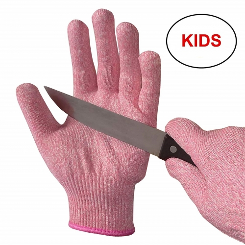 Food grade Kid cut resistant protection work glove for kitchen food preparing for Kitchen Use, Crafts, DIY, Garden and Yard works