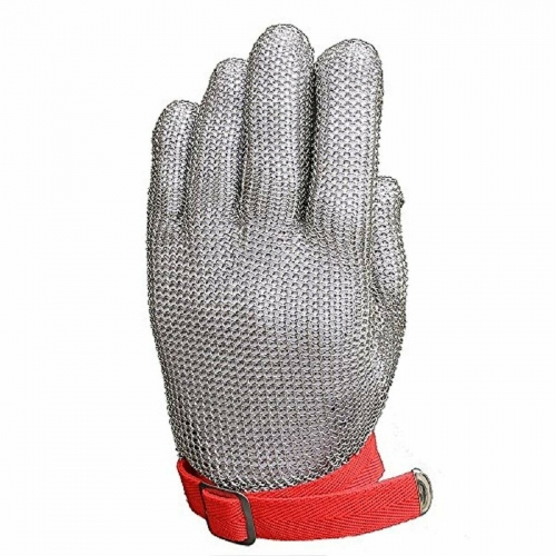 Food grade 304L Stainless Steel Mesh Chain Mail Cut Resistant work safety Gloves for Kitchen Butcher meat processing