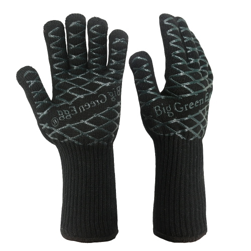 Regular cuff 932°F Extreme Heat and Cut Resistant Barbecue Grill Pit mitt Gloves Oven Mitts, Pot Holders for Cooking, Smoking,Baking, Camping, Fireplace