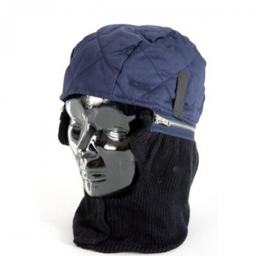 Proban Treated Flame retardant Zero Hood with zipper off Safety helmet winter liner