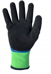 Cut Level 5 Waterproof Oil Resistant thermal cut resistant Gloves with insulated and double coated