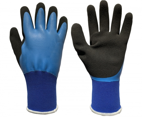 Water resistant and Oil resistant work grip glove for automobile repair fishing garden