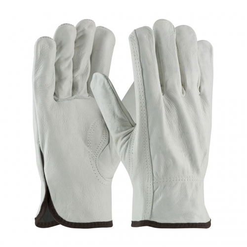 Deliwear ASTM F696 Electrical Arc flash Cowhide Leather Protector Glove Class 00 and 0
