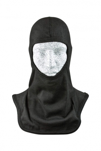 Shoulder length NFPA 70E HRC 2 CAT 2 Cotton Interlock Permanently Flame Retardant Hood