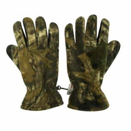Thinsulate Thermal Lined Fleece Camouflage Gloves for Fishing Hunting