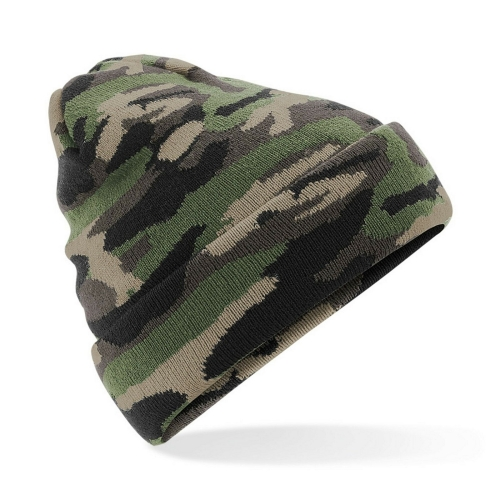 Winter thermal Acrylic knit Camouflage cap for Hunting Hiking Fishing