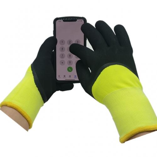 Cold Resistant Insulated Waterproof grip Touch Screen Glove for Winter Outdoor sports work Cold store