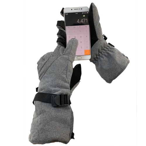 Thermal Warm insulation Touch screen Waterproof Winter work gloves for Skiing Cold Storage refrigated room