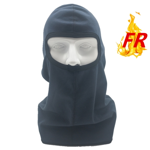 ASTM D6413 NFPA 70E HRC 2 Cotton Interlock Inherently Flame Retardant FR Balaclava Face mask Hood