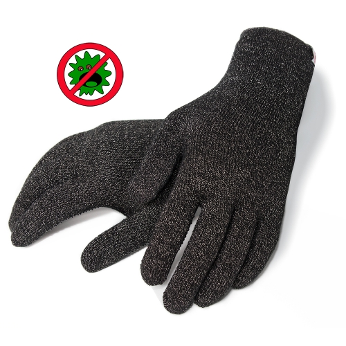 Antimicrobial technology Breathable Silver Antibacterial glove antibiosis for Virus protection hygiene Raynaud's disease Syndrome gloves