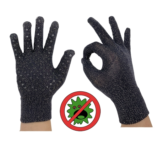 Antibacterial technology Cool Antimicrobial glove Silver Touch screen for Anti Virus hygiene Raynaud's disease Syndrome gloves